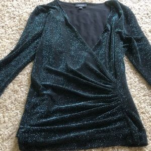 Dressbarn collection top blouse night out